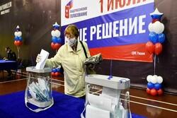 حدود ۷۸ درصد مردم روسیه به ابقای پوتین تا ۲۰۳۶ رای مثبت دادند
