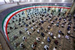 ہمدان میں طبی پروٹوکول کی رعایت کے ساتھ نماز جمعہ ادا کی گئی
