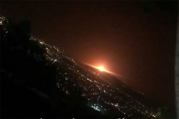 No casualties reported following huge gas tank explosion in E Tehran