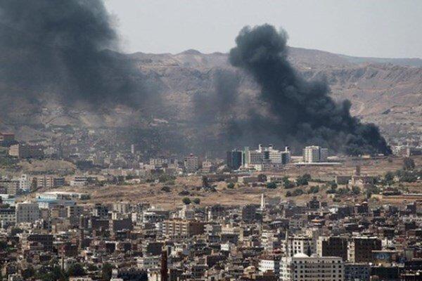 جنگنده های سعودی-آمریکایی مناطقی در خاک یمن را هدف گرفتند