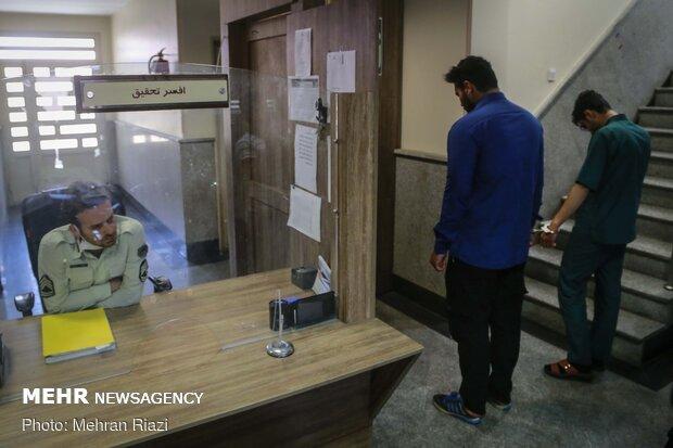 دستگیری عاملان آتش سوزی بوستان نهج البلاغه