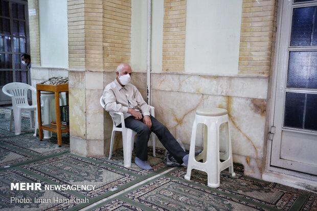 اقامه نماز جمعه همدان با رعایت پروتکلهای بهداشتی