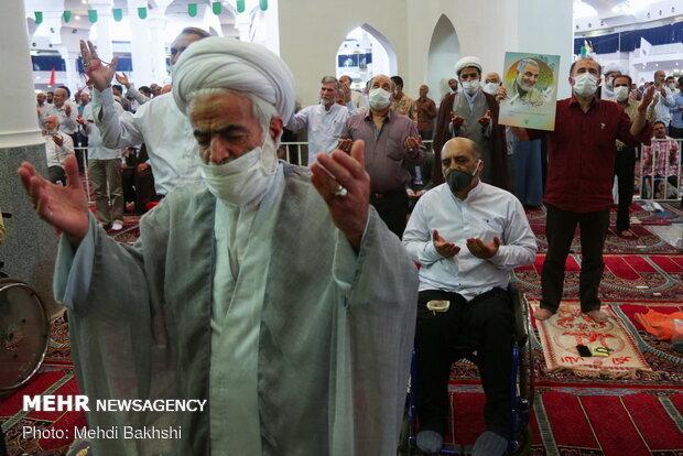 اقامه نماز جمعه قم پس از چهار ماه وقفه