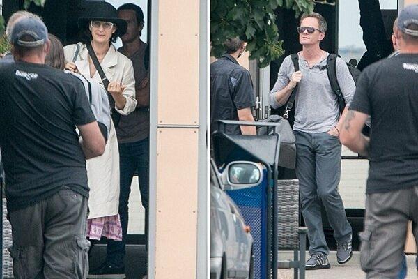 کیانو ریوز و بازیگران «ماتریکس ۴» راهی برلین شدند