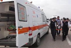 تصادف ۲ خودرو در اتوبان تهران قم/ ۷ نفر مصدوم شد