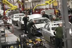 تولید خودروی انگلستان ۹۵ درصد سقوط کرد