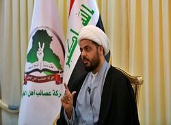 """""""الخزعلي"""" يهدّد الكاظمي ويعطي تحذيراً أخيراً للقوات الأمريكية"""