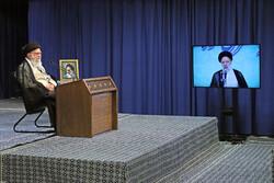 قائد الثورة الإسلامية يلقي كلمة بالملتقى السنوي للسلطة القضائية / صور
