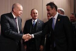سران ترکیه و یونان تلفنی رایزنی کردند