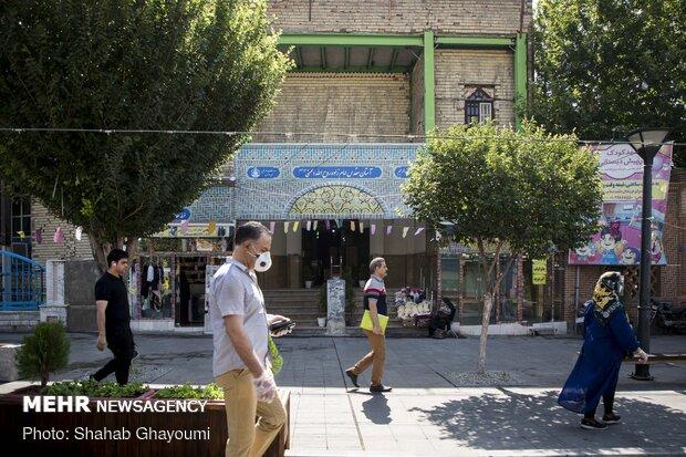آستان مقدس امام زاده روح الله یکی از نوادگان امام حسن مجتبی (ع) در خیابان باب همایون قرار دارد