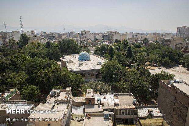 بقاع متبرکه در دل پایتخت