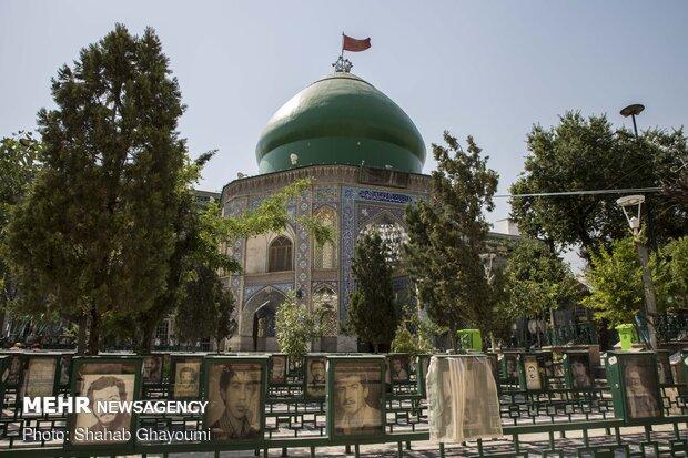 آستان مقدس امامزاده علی اکبر (ع) که از نوادگان امام زینالعابدین (ع) می باشد در محله چیذر واقع شده است