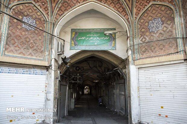 آستان مقدس  امامزاده زید (ع) که یکی از فرزندان امام سجاد (ع) می باشد که در انتهای جنوبی بازار بزازان واقع شده است