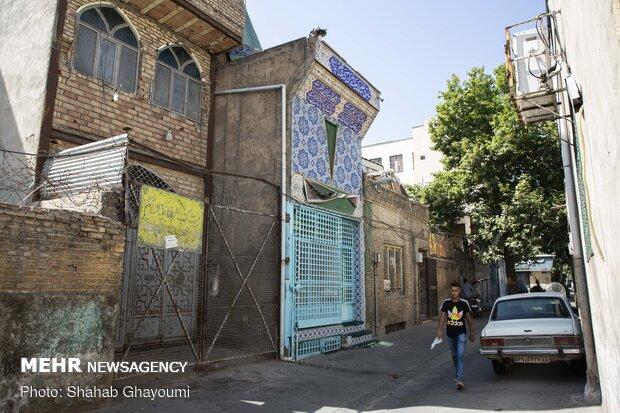 Başkent Tahran'daki kutsal mekanlardan fotoğraflar