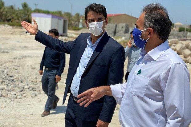 پایان توقف پروژه استخر جزیره خارگ/ عملیات اجرایی مجددا آغاز شد