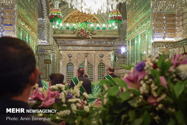 "Commemoration ceremony of National Day of ""Shah Cheragh"" in Shiraz"