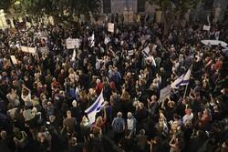 مظاهرات جديدة في جميع مدن فلسطين المحتلة تطالب برحيل نتنياهو عن السلطة
