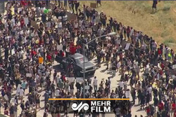 VIDEO: Protesters in Colorado shut down highway