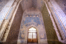 Interior design of Dome of Soltaniyeh