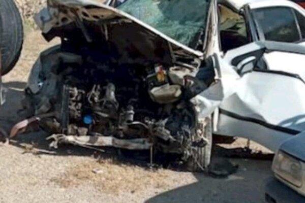 تصادف مرگبار سمند و پراید در محور یاسوج به اصفهان