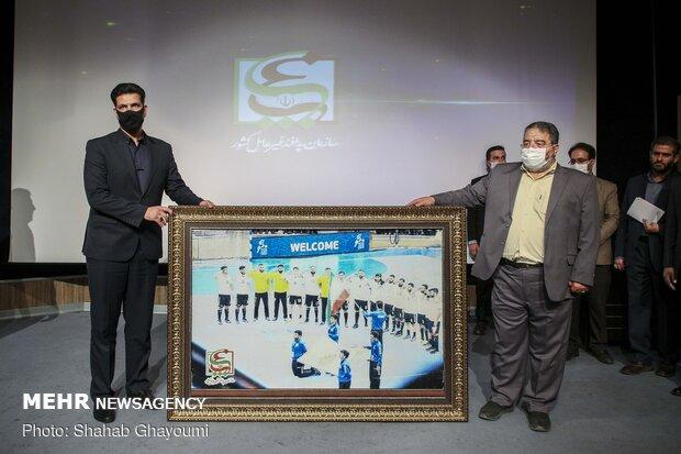حضور سردار سرتیپ پاسدار غلامرضا جلالی رئیس سازمان پدافند غیرعامل در همایش ملی پدافند شیمیایی