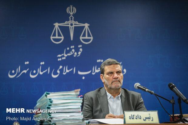 قاضی صلواتی در جلسه رسیدگی به اتهامات عباس ایروانی و سایر متهمان گروه عظام