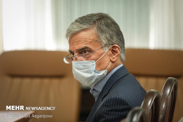 جلسه رسیدگی به اتهامات عباس ایروانی و سایر متهمان گروه عظام
