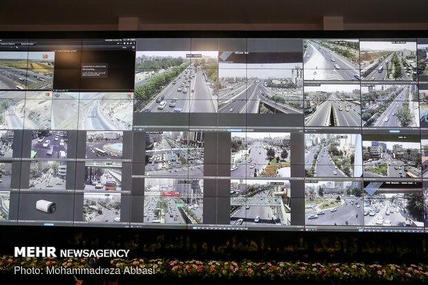 مرکز فرماندهی و کنترل هوشمند ترافیک پلیس راهور تهران بزرگ