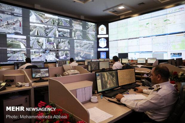 مركز قيادة ومراقبة الذكية لحركة المرور بطهران / صور