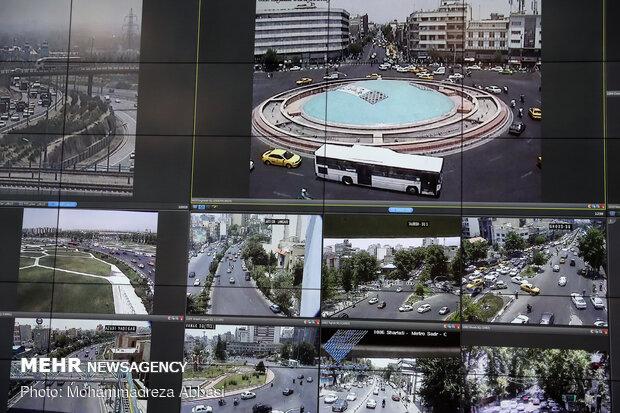 مركز القيادة والمراقبة الذكية لحركة المرور بطهران / صور