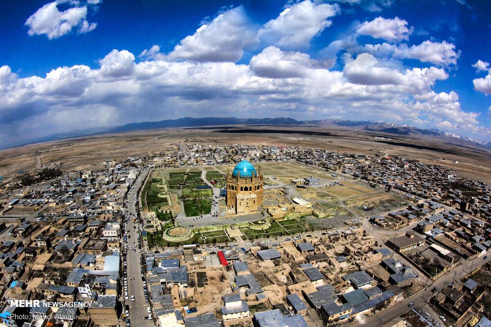 گنبد سلطانیه عظمت باشکوه هنر و معماری ایرانی