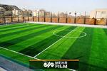 زمین فوتبال زیبا در روستای نوریاب شهرستان پاوه