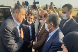 وزیر راه و شهر سازی وارد قزوین شد