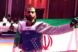 Iran's Pourrahnama maintains 3rd position in world para-taekwondo