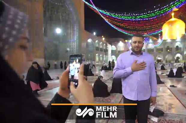VIDEO: Visiting Imam Reza holy shrine amid pandemic
