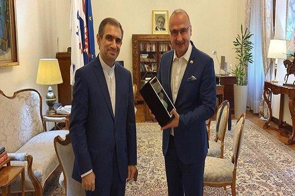 Iran, Croatia review bilateral ties, latest development on JCPAO