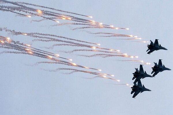 حمله گسترده جنگنده های روسی به مقر تروریست ها در «تدمر» سوریه