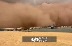 VIDEO: Saharan dust storm fills the air