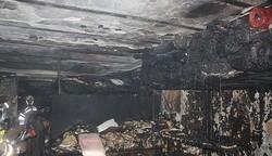 کارگاه تولیدی کفش در آتش سوخت/ دو نفر مصدوم شدند