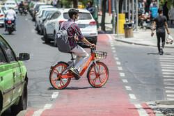 دوچرخه های اشتراکی وارد چرخه حمل و نقل عمومی یزد شدند
