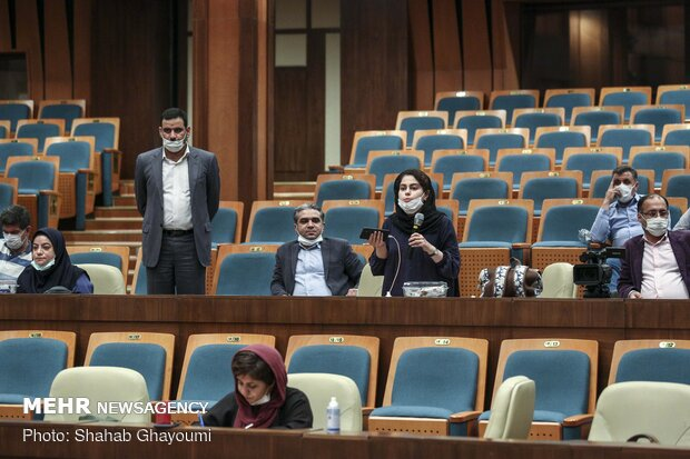 نشست خبری جمشید محبت خانی به مناسبت روز ملی محیطبان