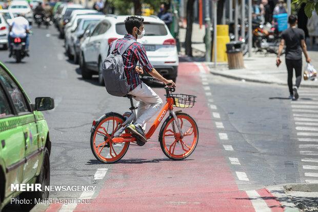 ارائه پارکینگ رایگان دوچرخه در ساختمانهای شهرداری