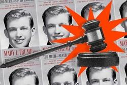 انتشار کتاب افشاگرانه برادرزاده ترامپ متوقف شد