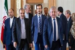 مباحثات ايرانية روسية تركية، قبل انطلاق القمة الثلاثية