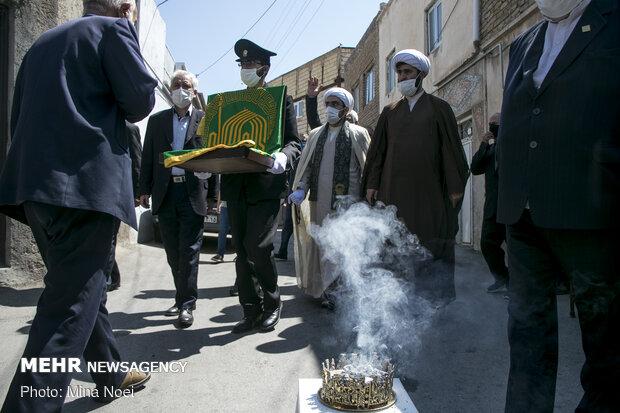 کاروان «زیر سایه خورشید »در تبریز