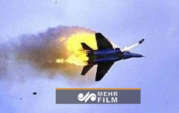 سقوط جنگنده F16  در کارولینای جنوبی