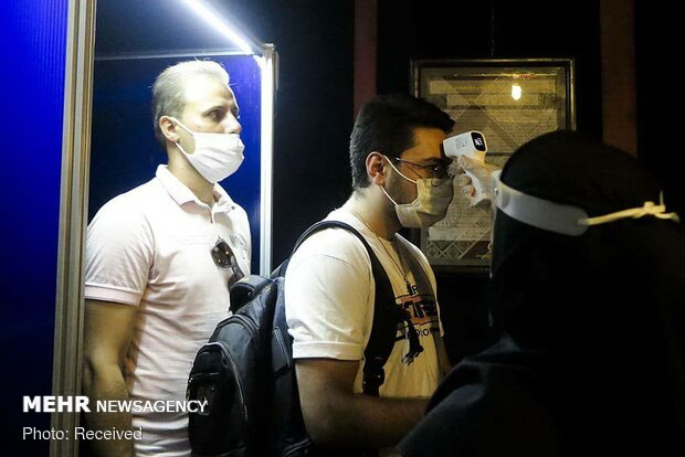 Tehran City Theater host 1st performance under Covid-19 outbreak