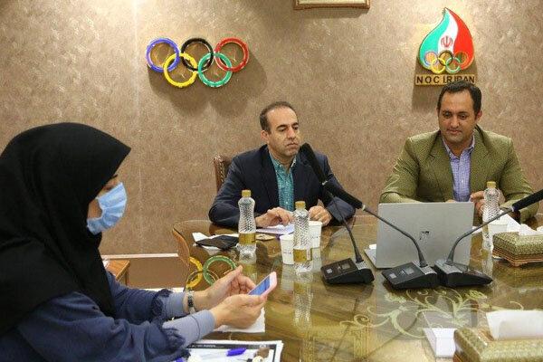 إجتماع إفتراضي للمسؤولين الإيرانيين مع لجنة طوكيو الأولمبية
