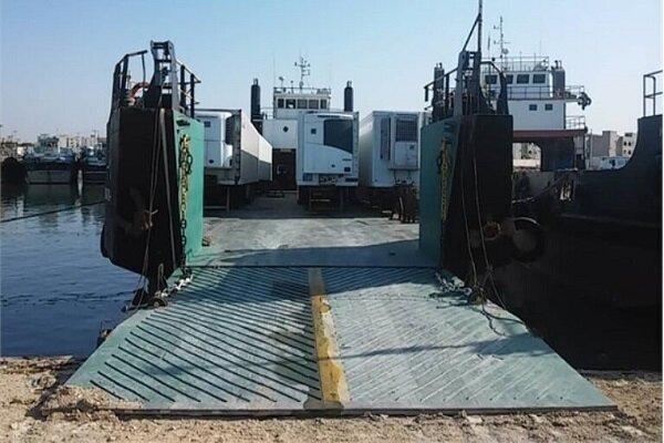 تدشين خط شحن بحري يربط إيران بالكويت
