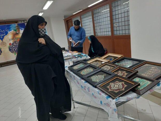 نمایشگاه محصولات فرهنگی و صنایع دستی در مصلی تبریز برپا شد